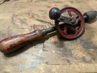 Vintage Millers Falls No.5A Single Speed Egg Beater Hand Drill
