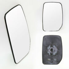 Front Wing Main Mirror Clip On Glass Fits Ford Transit 00-13 Driver Side Right