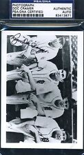 Doc Cramer Signed Psa/dna Certified Photo Authentic Autograph
