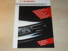 28351) Subaru Legacy Justy Libero Prospekt 1991