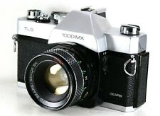 SEARS TLS 1000MX 35mm SLR Film Camera + F1.8 50mm Lens