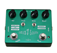 """CALINE CP-20 """"CRAZY CACTI""""   DUAL TOGGLE MOSFET OVERDRIVE POWERFUL  NEW!  NICE!"""