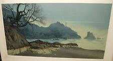 "MEL HUNTER ""THE LIGHT AT EMERALD POINT"" LIMITED SIGNED LITHOGRAPH"