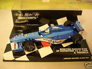 Minichamps: Benetton Playlife B198 British GP Silverstone 1998 Fisichella