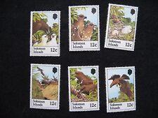 Solomon Islands: 1982 Sanford's Sea Eagle set of 6 UMM