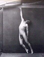 """Nude male monté Vintage Repro impression photo, 10 x 8"""", 1880 gay interest NP12"""
