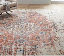 West Elm Rani Rug 8' x 10' Handcrafted Distressed