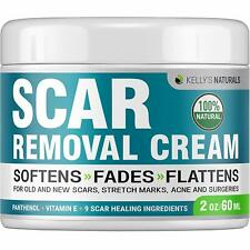 Kelly's Natural Scar Removal Cream - Perfect for Stretch Marks - Natural Formula
