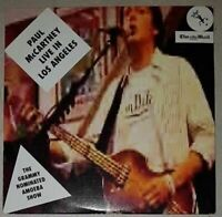Paul McCartney  Live In Los Angeles  The Mail On Sunday promo collectors  CD