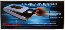 KINYO VHS Video Tape Rewinder UV-520 Auto Stop Eject New in Box save your VCR