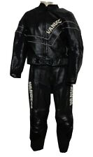 Motorradkombi zweiteilig von VANUCCI leder schwarz Gr.34 combinaison moto Nr.03