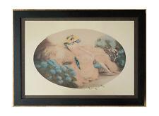 Hortense 1992, Louis Icart, 50x70cm frame, Hortense by Louis Icart