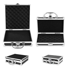 Durable Travel Sturdy Storage Carry Case Tools Box Organiser With Sponge Inside
