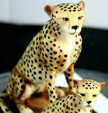 Meerchi Cheeta Hand Crafted Collectors Statue