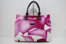 Longchamp Le Pliage Womens Handbag Tote Floral Large Darshan Pink Canvas BNWOT