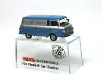 Brekina MCZ  03 67 IFA Barkas B 1000 VEB Fahrzeughydraulik Frankenberg DDR NEU