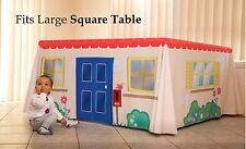 Table Playhouse Cubby House to fit Large Square Table