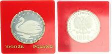 1000 Zloty 1984, Polen, Schwan, Proba, PP