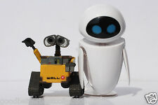 6cm Wall-E Robot & 9cm EVE PVC Action Figure Model Toys Dolls for Children Gift