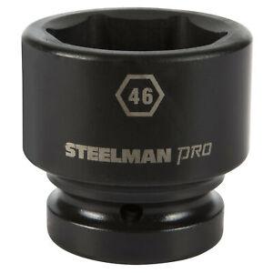 Steelman Pro 1 in. Drive 46mm 6 Point Impact Socket 79313