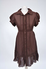 Kleid Hemdblusen-Kleid mit Häkelspitze von Dorothy Perkins, 38 M, neu