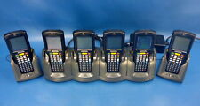 Lot of 6 Motorola Mc3190 Scanner 4-Bay & 2x Single Charge Base Mc3190-Sl4H12E0U