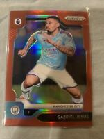 2019-20 Panini EPL PRIZM Premier League Gabriel Jesus Red PRIZM /149 Man City
