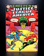 COMICS: Justice League of America #70 (1969), 1st Mind-Grabber Kid app - RARE