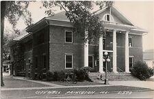 City Hall in Princeton IL RP Postcard