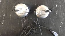 OEM Silver Game Boy Advance SP Head Ear Phones Gameboy Nintendo Power