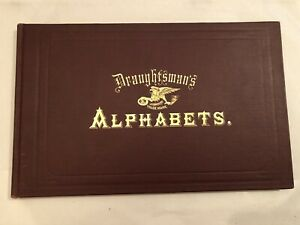 ANTIQUE DRAUGHTSMANS ALPHABETS TYPOGRAPHY CALLIGRAPHY BOOK  HERMAN ESSER 20TH ED