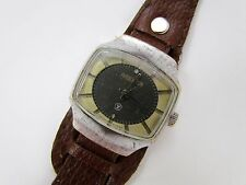 Square Vintage RAKETA 2609.HП Soviet Mechanical wristwatch