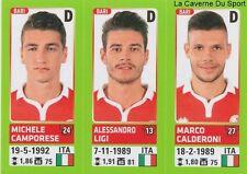 557 CAMPORESE  LIGI  CALDERONI ITALIA FC.BARI STICKER CALCIATORI 2015 PANINI