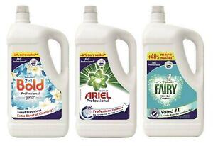 Washing LIQUID Laundry Detergent 4.55 Litre - Various Brand - Free P&P
