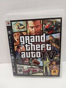 Grand Theft Auto IV Playstation 3 PS3 2008 GTA 4  With Manual/Map