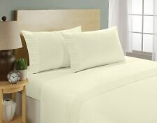 Home Sweet Home Super Soft 1800 Series Chamberlain Solid Pleated Sheet Set