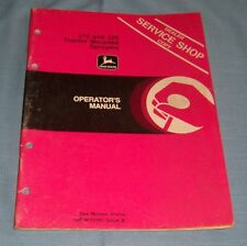 John Deere 210 and 220 Tractor Mounted Sprayers Operator's Manual - C2659