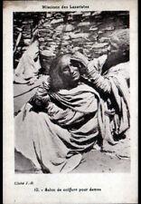 METIER / SCENE DE VIE (AFRIQUE) COIFFEUR ,SALON de COIFFURE pour DAMES vers 1930