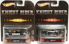 Hot Wheels Retro Knight Rider Set of 2 Variations: KITT & KARR Limited Edition..