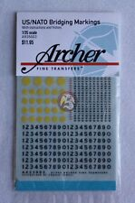Archer 1/35 US / NATO Bridge Weight Markings for Vehicles (WWII-present) AR35003