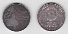 MOZAMBIQUE - SILVER PROOF 500 METICAIS COIN 1980 YEAR KM#104 5th INDEPENDENCE