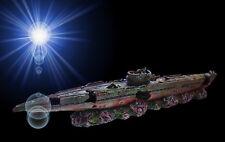 Aquarium Deko 🍀 U-BOOT WRACK 50 cm 🍀 Schiff Schiffswrack Marine Höhle Zubehör