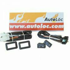 Power Window Switch Kit with Two Sw1 Switches And Cases AutoLoc 21RSS hot rod