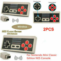 Für NES Classic Edition Konsole 2PCS Wireless Mini Gamepad Controller Receiver
