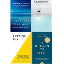 A Return To Love,The Untethered Soul,Surrender Experiment 4 Books Colllection