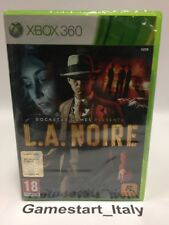 L.A. NOIRE - XBOX 360 - NUOVO SIGILLATO VERSIONE ITALIANA NEW SEALED PAL VERSION