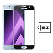 3D Full Cover Tempered Glass Screen Protector For Samsung Galaxy A3 A5 A7 2017