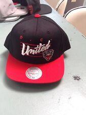 D.C. United, hat, Mitchell & Ness, MLS fan gear, Adjustable