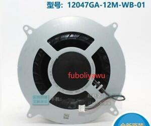 New For PS5 NMB 12047GA-12M-WB-01 DC12V 2.4A Cooling Fan f8