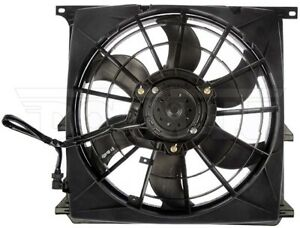 Dorman 621-212 A/C Condenser Fan Assembly For 96-99 BMW 318i 318is 318ti Z3